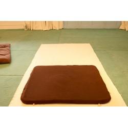 """TAPISHO , tapis transportable de """"méditation"""" avec poches de rangement."""