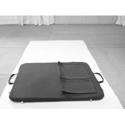 Tapis transportable de méditation + rangements